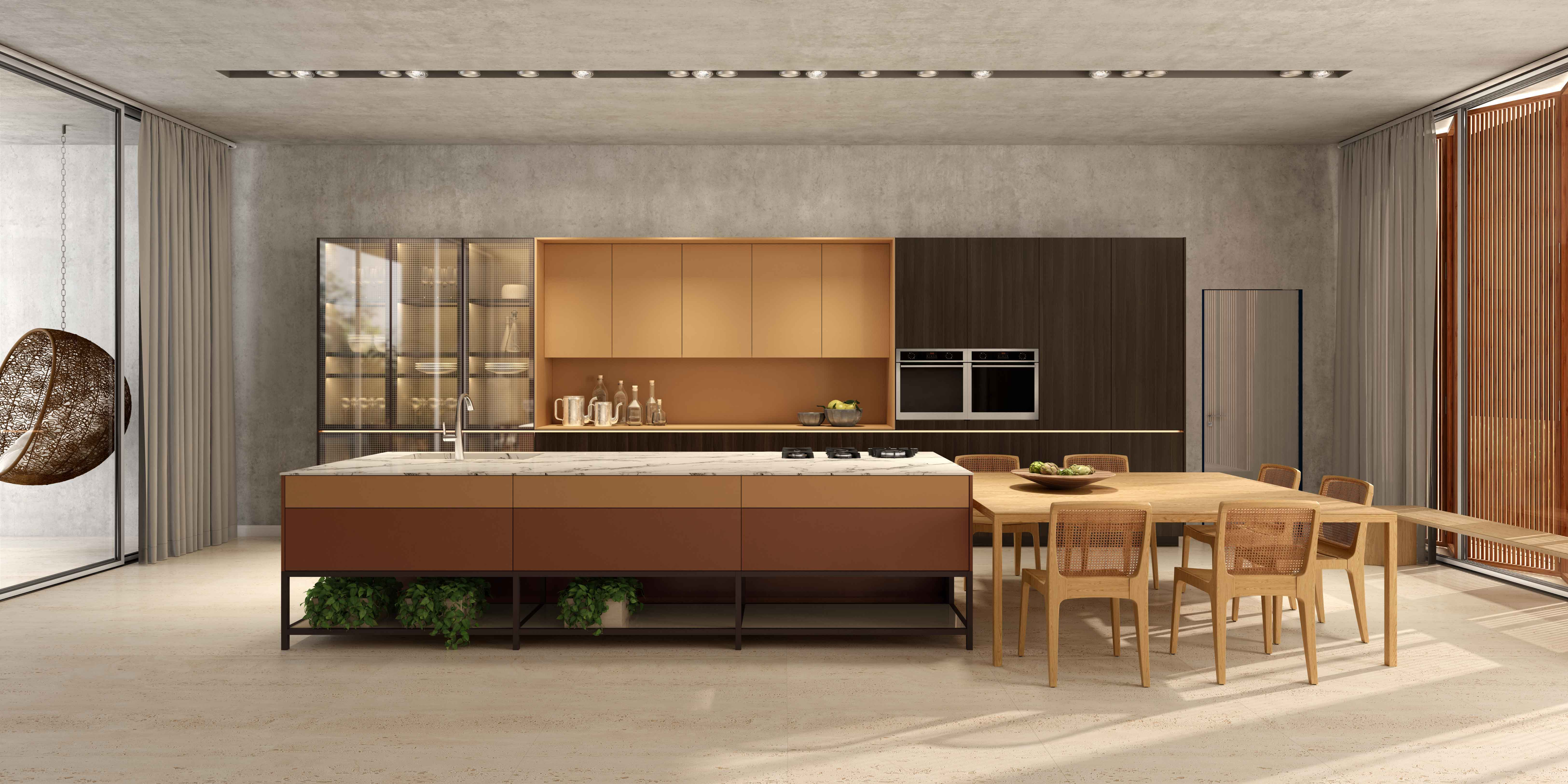 Dell Anno's Kitchen is a Perfect Blend Of Modern And Impeccable Quality Kitchens. Tailor-Made Kitchens For Homes With Highly Architectonical.