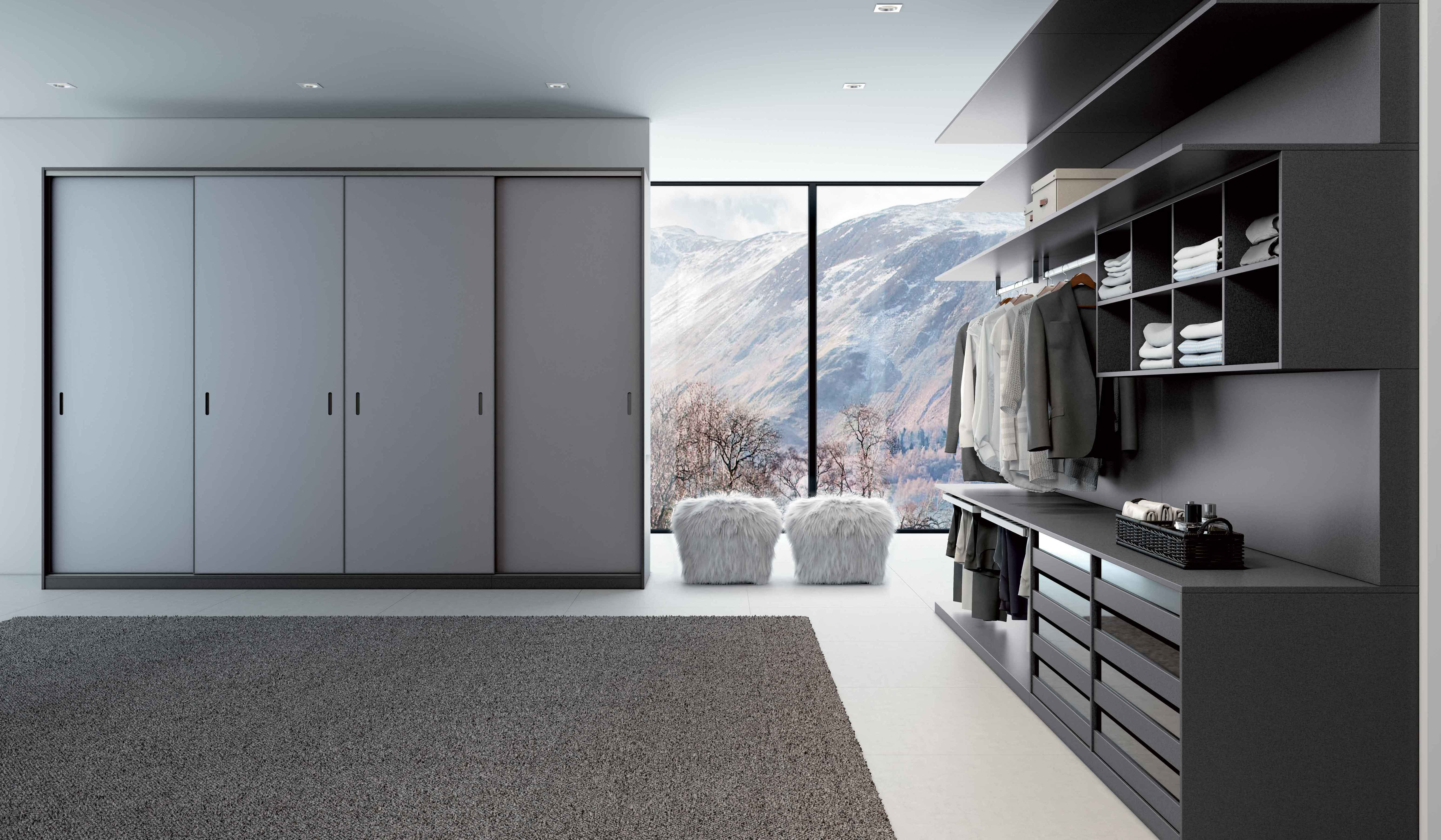 Modern Closet Combining Aesthetics With Efficiency In A Union Of Form And Function. Dell Anno Closets Are Built To Organize Your Sense Of Style