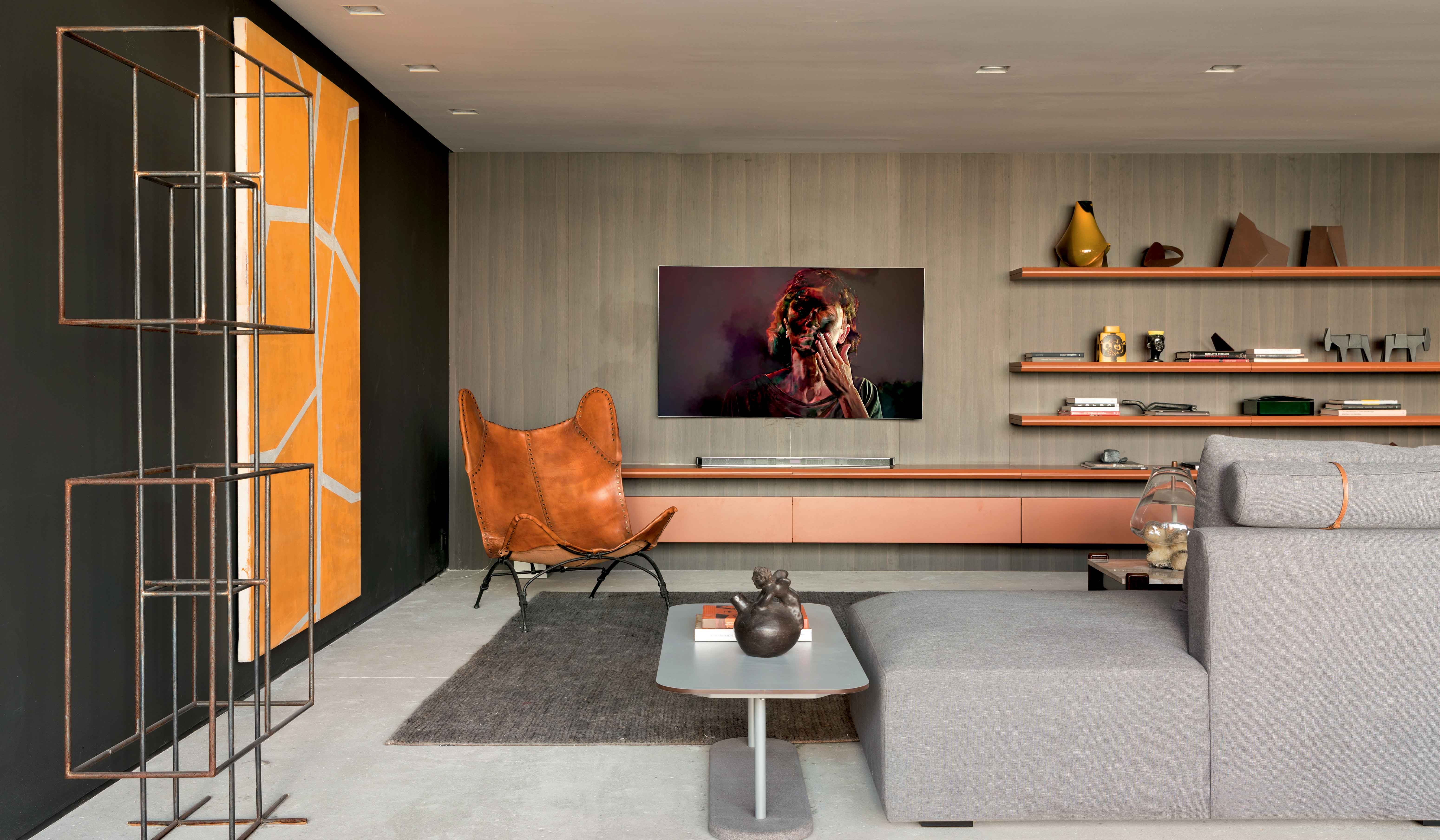 Dell Anno's Home Theater Are Practical And Elegant Spaces That Play With Harmonious Combinations Of Materials And Unprecedented Modern Design
